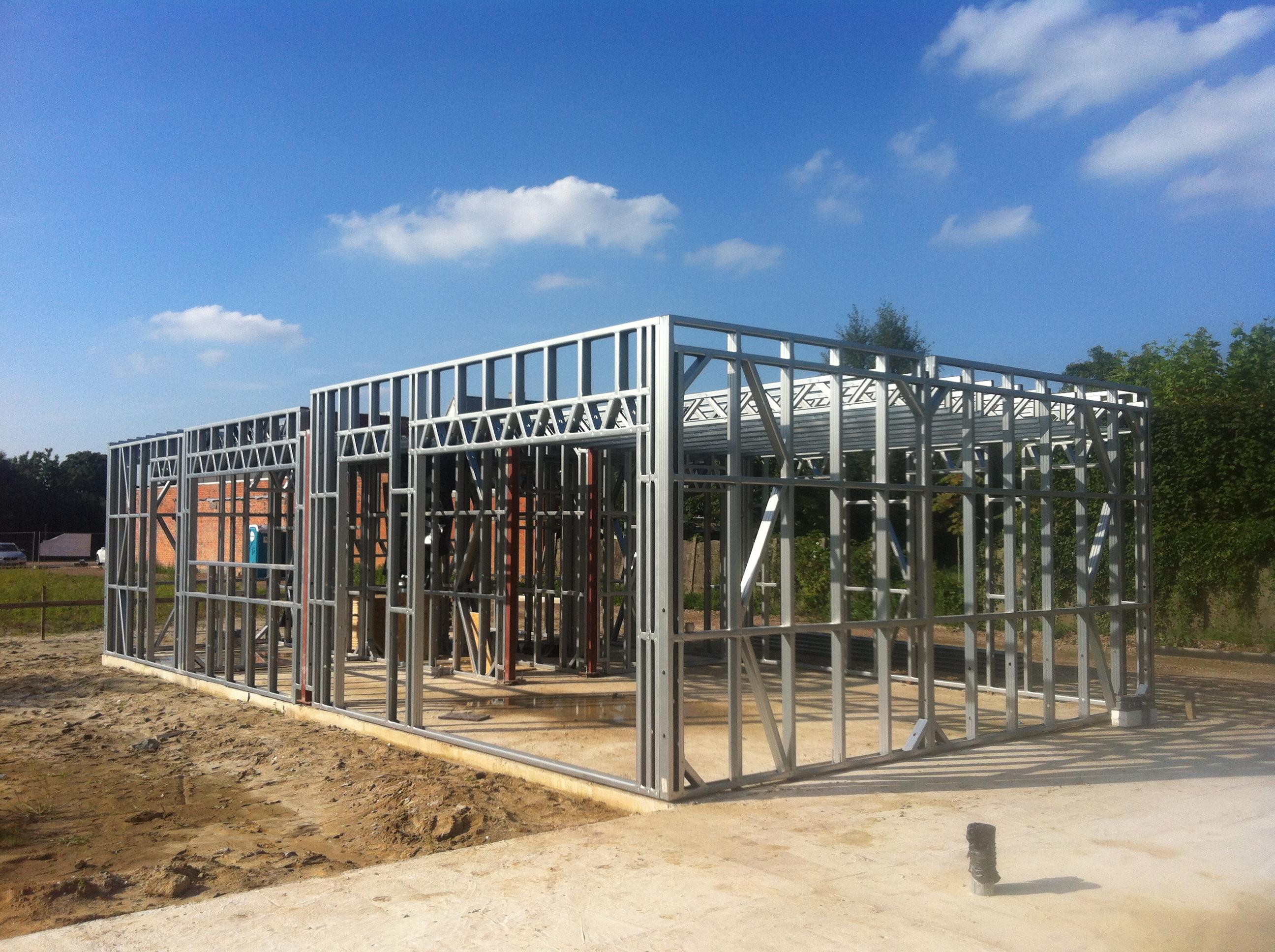 Voordelen van staalframebouw